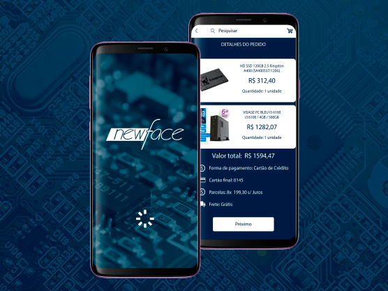 aplicativo para a venda de produtos