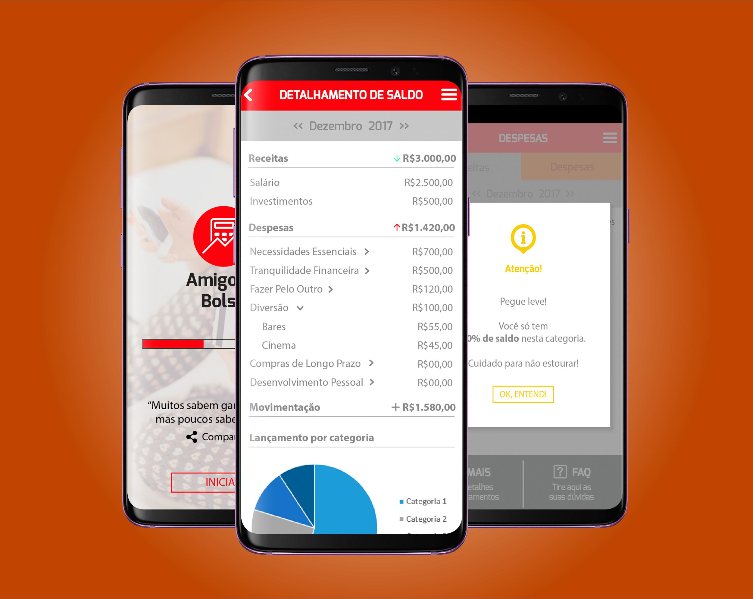 Case Amigo do Bolso-Aplicativo para controle financeiro pessoal