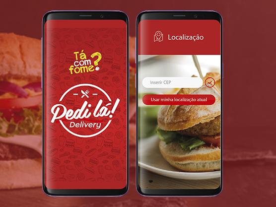 Case Pedi Lá-aplicativo de delivery de comida