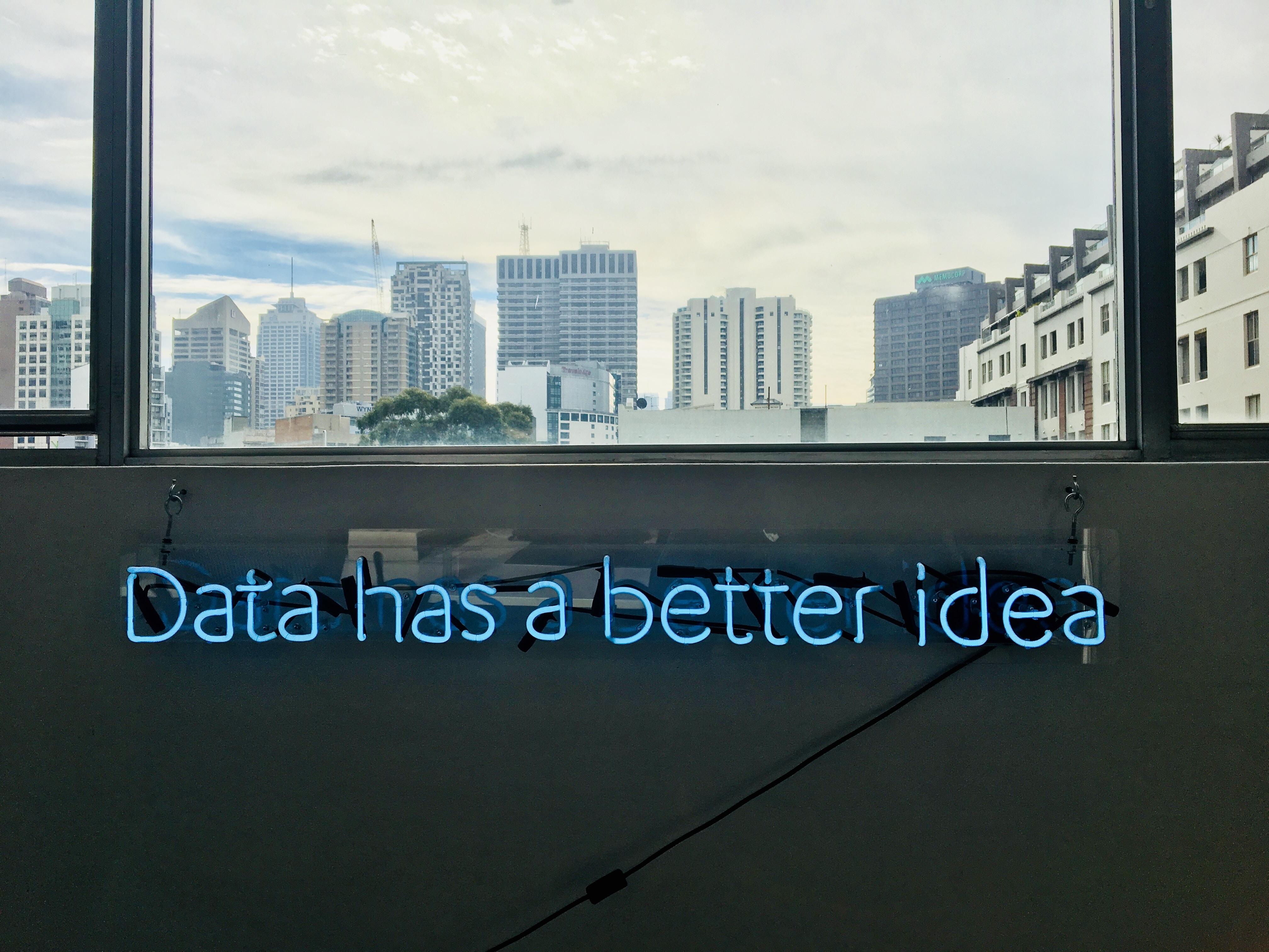 Data has a better idea.