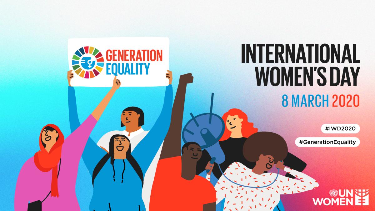 Conteúdo criado pela ONU Mulheres para o Dia Internacional da Mulher 2020.